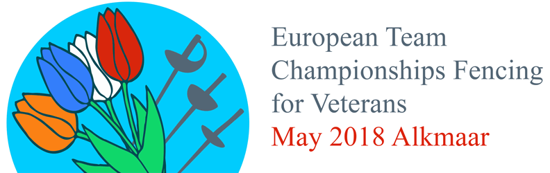 European Team Championships Fencing for Veterans, May 2018, Alkmaar The Netherlands